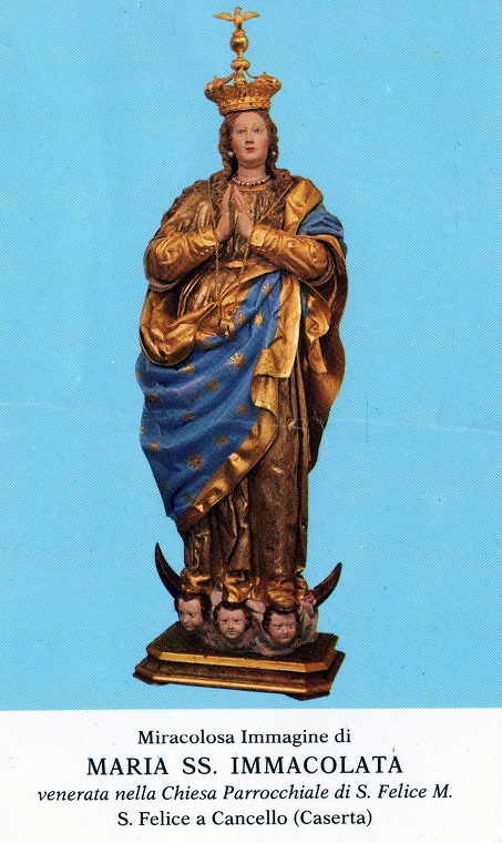 Statua di Maria SS Immacolata